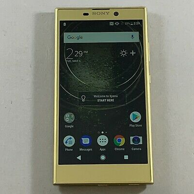 $ CDN152.59 • Buy Great Sony Xperia L2 H3321 32GB Gold GSM Unlocked Android Smartphone