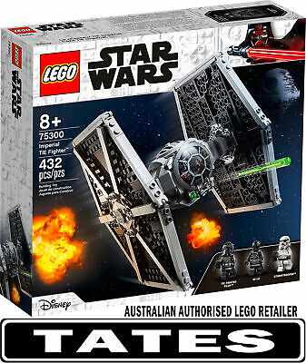 AU74 • Buy LEGO 75300 Imperial TIE Fighter™  - Star Wars™ From Tates Toyworld