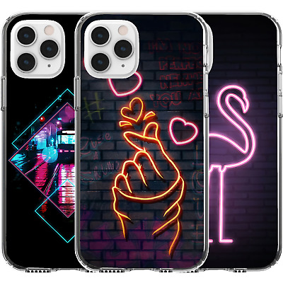 AU16.95 • Buy Silicone Cover Case Fingers Snap Heart Cute K Pop Art Retro Flamingo Sign Street