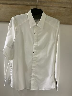 PS By Paul Smith Tailored Fit White Shirt, Size Large • 8£