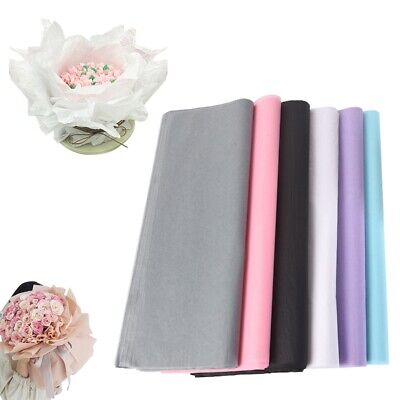 £4.95 • Buy 20Pcs Flower DIY Craft Packaging Paper Valentine's Day Bouquet Gift Wrapping'