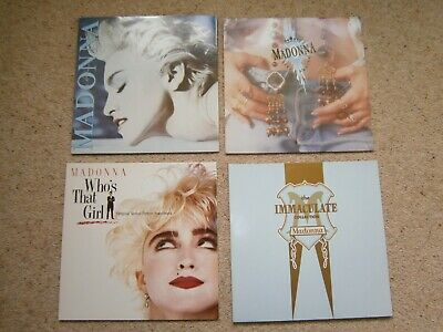 Madonna Vinyl Lp Bundle . Four Records . • 10.50£