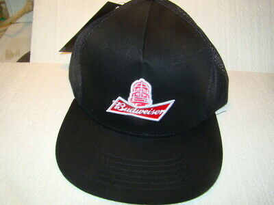 $ CDN18.93 • Buy Budweiser Hockey Hat Gong Show New With Tags Black Snap Back  Mesh Back