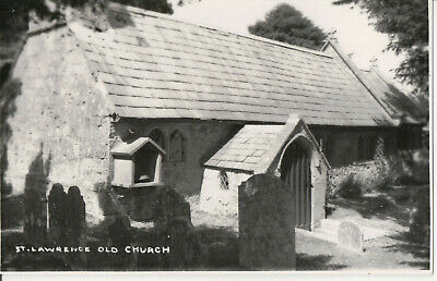 Postcard Of St Lawrence Old Church, Ventnor, Isle Of Wight, Hampshire • 3£