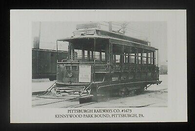 $6.32 • Buy 1990s 1890s View Trolley #1673 Pittsburgh Railways Co. Kennywood Park Pittsburgh