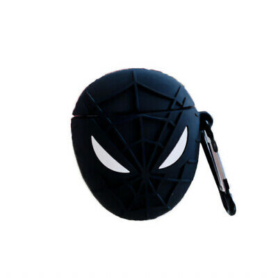 $ CDN12.61 • Buy 3D AirPods Case Shockproof Cover Compatible With AirPods 2&1(Black Spider-Man)