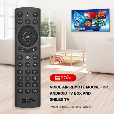 AU19.99 • Buy G20S PRO 2.4G Wireless Voice Fly Air Mouse Remote For PC Smart TV Set Top Box