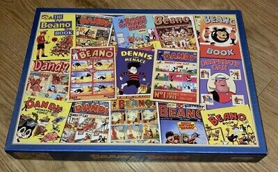 Gibsons Puzzle 1000 Piece Jigsaw Puzzle - The Beano/Dandy  Golden Years • 2.49£