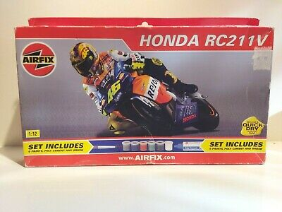 Airfix Honda Rc211v Model Kit 1:12 Valentino Rossi/incomplete/sold As Seen • 49.99£