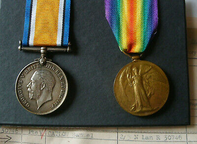 WW1 Medals James Winchester 2/4th Loyal North Lancashire Regiment • 65£