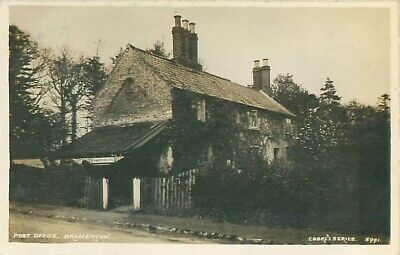 R/p Post Office Bramerton Norfolk  Real Photo Cookes Series Posted 1913 • 5£