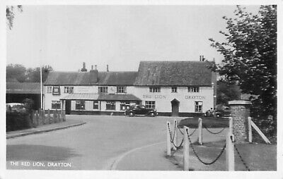 R/p The Red Lion Drayton Norfolk  Real Photo Street Scene • 5£