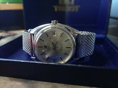 Vintage Tissot Automatic Seastar Stainless Steel Watch • 120£