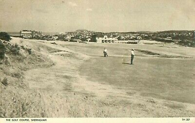 Pc Sheringham The Golf Course Norfolk Posted 1956 • 3£