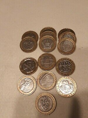 Rare 2 Pound Coin Job Lot • 50£