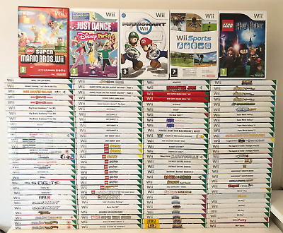Nintendo Wii Games Kids Family Adult - Choose Your Game / Bundle Up Fast P&P • 25.19£