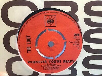 £28.50 • Buy The Loot - Whenever You're Ready, UK CBS Stock, EX+ Mod, Soul Dancer