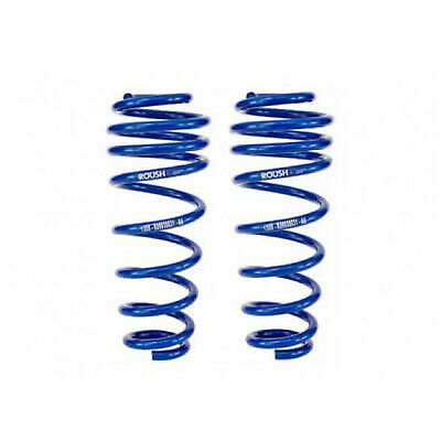 $159.99 • Buy Roush 401295 Rear Performance Coil Springs Pair Blue For 05-14 Ford Mustang