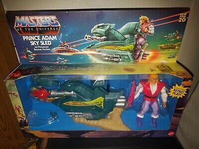 $25.99 • Buy Mattel Masters Of The Universe Origins Prince Adam's Sky Sled Action Figure - G…