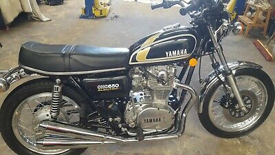 AU6800 • Buy Yamaha Xs650 Unrestored 5000 Miles From New, Must See To Appreciate No Reserve