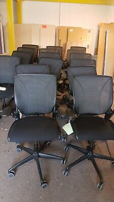 Humanscale Diffrient World Ergonomic Mesh Back Office Swivel Chairs Quality  • 175£