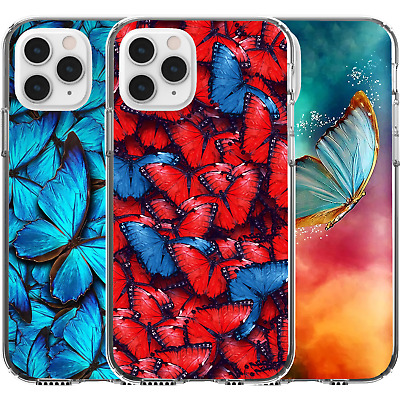 AU16.95 • Buy Silicone Cover Case Animal Butterfly Nature Colourful Earth Beautiful Cute Art