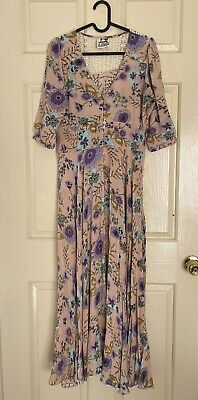 AU10 • Buy Jaase Pink Maxi Dress-Size XS