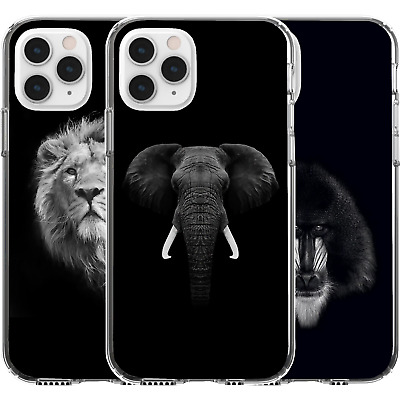 AU16.95 • Buy Silicone Cover Case Animal Nature Earth Life Cute Elephant Baboon Lion Wild King