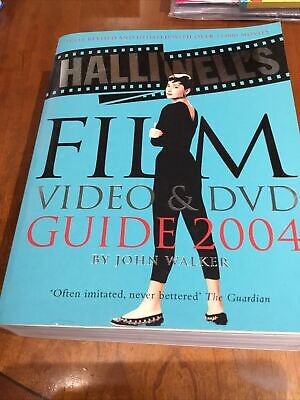Halliwell's Film, Video And DVD Guide: 2004 By Leslie Halliwell (Paperback,... • 1£