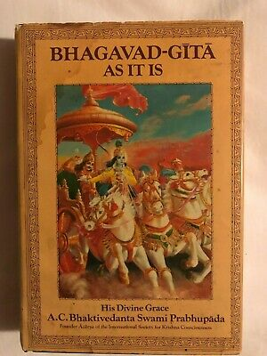 AU15 • Buy Bhagavad-Gita As It Is By A. C. Bhaktivedanta (1989, Hardcover)