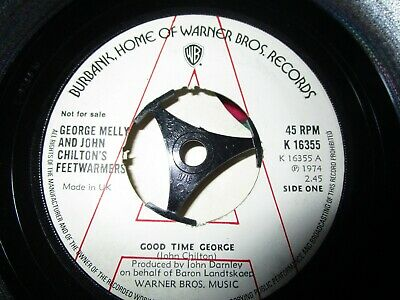 George Melly, John Chilton's Feetwarmers Good Time George  A  Label 7inch Single • 10.75£