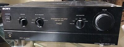 Sony TA-F442E Integrated Stereo Amplifier Spontaneous Twin Drive Linear Amp  • 25.70£