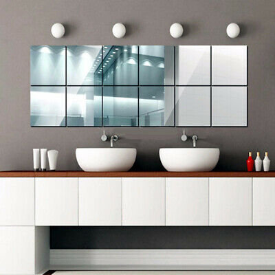 Acrylic Mirror Sheet Large Perspex Plastic Safety Mirror Child Safe • 5.35£