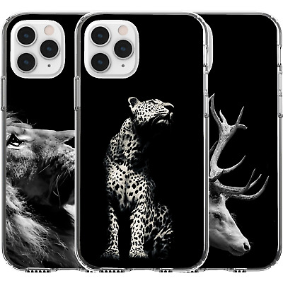 AU16.95 • Buy Silicone Cover Case Animal Nature Earth Life Cute Leopard Deer Buck Lion
