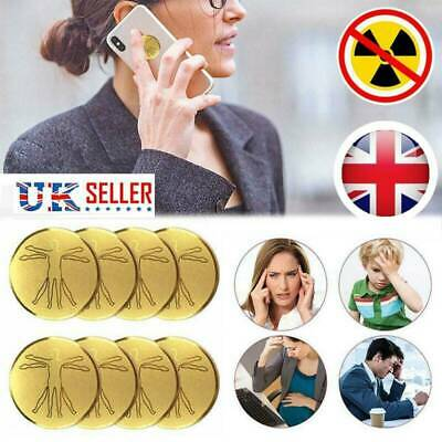 10PCS Anti Radiation Mobile Phones Protector Sticker For Laptop Ions EMF Blocker • 7.59£