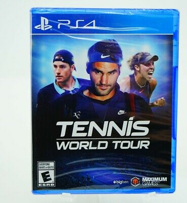 AU59.06 • Buy Tennis World Tour: Playstation 4 [Brand New] PS4