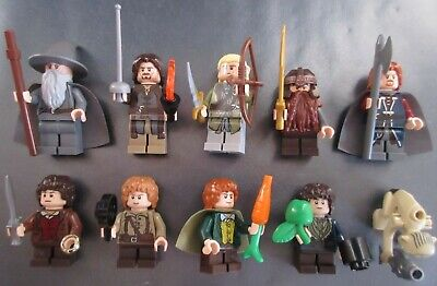 Lego Lord Of The Rings Hobbit Complete Fellowship Of The Ring 10 Minifigures • 140£