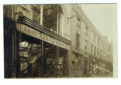 Norfolk Postcard Great Yarmouth Fire At Arnold's Regent Street • 25£
