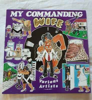 £15.99 • Buy Blacker Dread Presents My Commanding Wife LP White Label Mikey General Top Cat