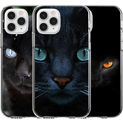 AU16.95 • Buy Silicone Cover Case Animal Nature Earth Life Cute Black Cat Evil Power Spirit