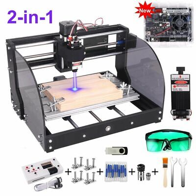 CNC 3018 Pro Max Laser Engraver GRBL DIY Milling Wood Router Upgraded 3018 Pro • 229.44£