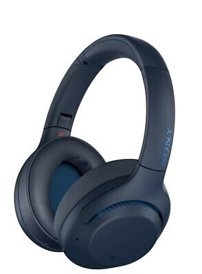 AU260 • Buy Sony Extra Bass Noise Cancelling Headphones Blue WH-XB900N
