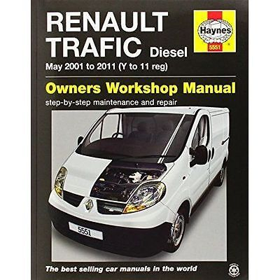 Renault Trafic Van Service And Repair Manual By Haynes Publishing Group (Paperb… • 14.99£