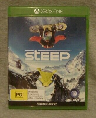 AU11 • Buy Microsoft Xbox One Steep Game, VGC, No Scratches, Instructions Included.