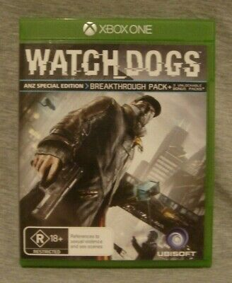 AU7 • Buy Microsoft Xbox One Watch Dogs Game, VGC, No Scratches, Instructions Included.