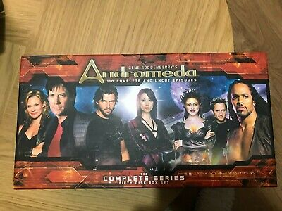 Andromeda Complete And UNCUT 50 Disc Boxset - All 110 Episodes • 70£