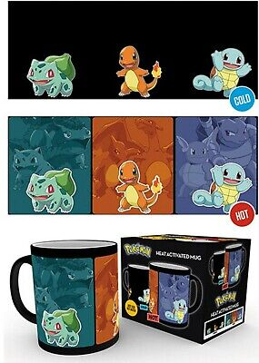 Official Pokemon Evolve Heat Thermal Changing Magic Coffee Tea Mug Cup New Gift • 15.99£