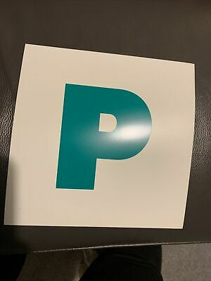 2 X Legal Waterproof Magnetic P Plates Legal Size New Driver • 1.20£