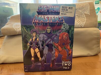 $0.99 • Buy He-Man And The Masters Of The Universe - Season 2: Volume 2 (DVD, 2006,...