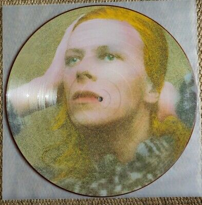 David Bowie ‎– Hunky Dory: Picture Disc RCA ‎– BOPIC 2 UK 1984 Vinyl LP • 11.50£